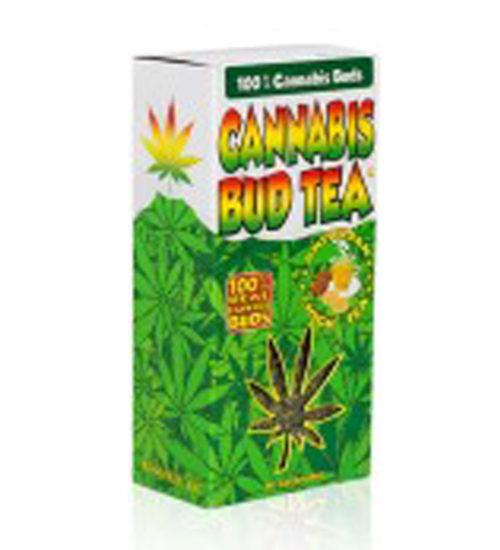 achat cbd Cannabis bud tea nature