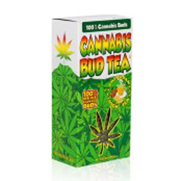 photo cbd Cannabis bud tea nature