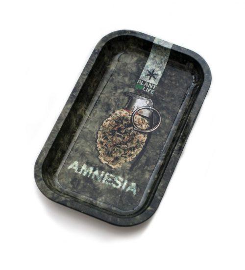 achat cbd Plateau en métal Amnésia
