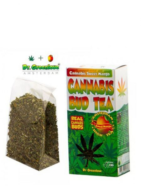 photo cbd Cannabis bud tea Mango