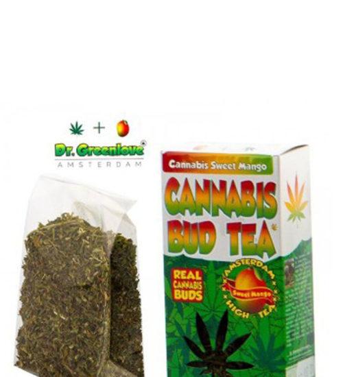 achat cbd Cannabis bud tea Mango