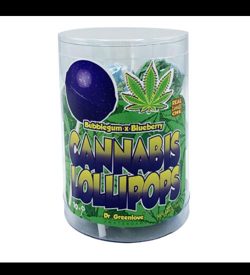 achat cbd Cannabis lollipops Bubblegum x Blueberry