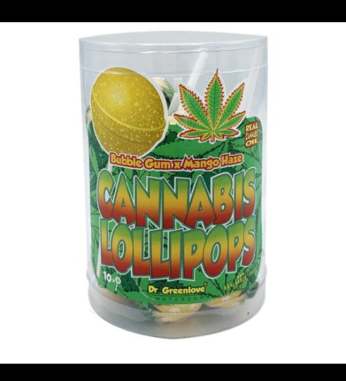 achat cbd Cannabis lollipops Bubblegum x Mango