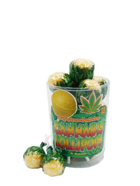 photo cbd Cannabis lollipops Bubblegum x Mango