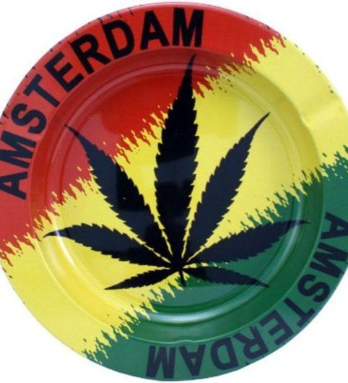 achat cbd Cendrier Feuille Amsterdam Rasta
