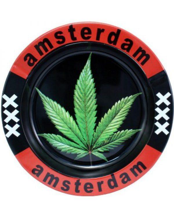 photo cbd Cendrier Amsterdam Feuille XXX