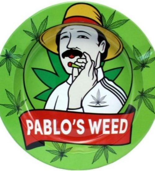 achat cbd Cendrier en métal Pablo's Weed