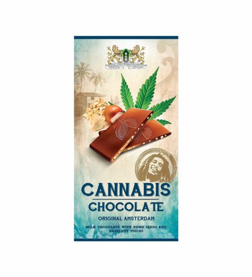achat cbd Bob Marley Hemp Milk Chocolate