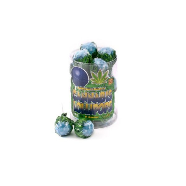photo cbd Cannabis lollipops Bubblegum x Blueberry
