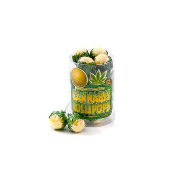 photo cbd Cannabis lollipops Bubblegum x Lemon