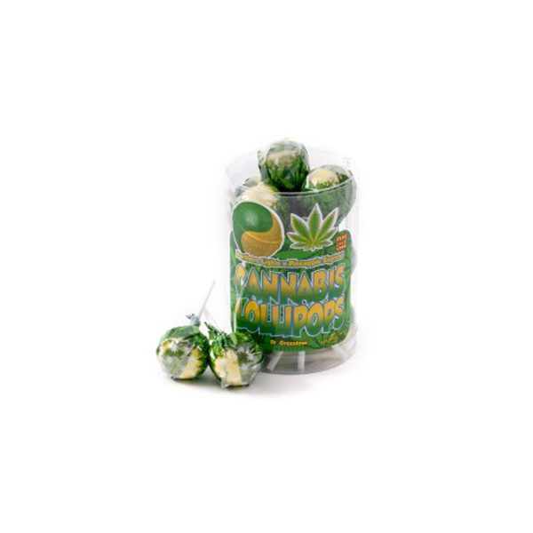 photo cbd Cannabis lollipops Northern lights x Pineapple