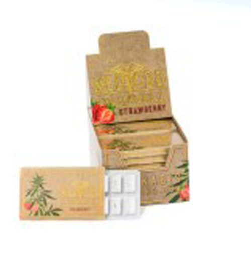 achat cbd Cbd chewing gum Brown strawberry