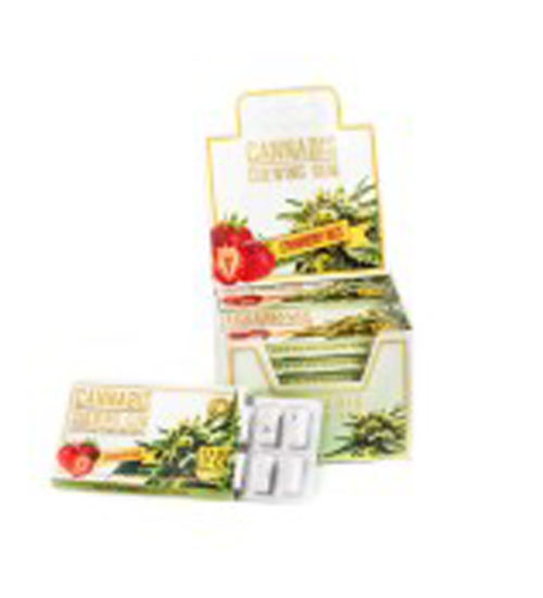 achat cbd Cbd Chewing gum strawberry