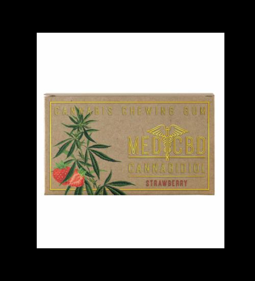 achat cbd Chewing Gums CBD Brown Strawberry