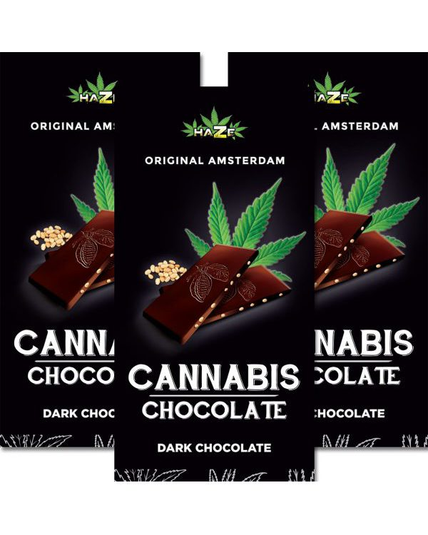 photo cbd Cannabis Chocolate Dark