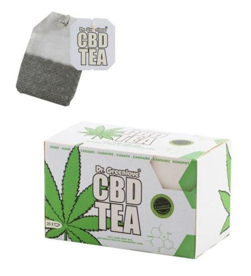 achat cbd Cannabis CBD tea – DR Greenlove white