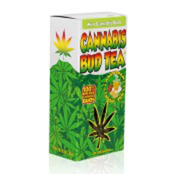 photo cbd Cannabis bud tea Mint