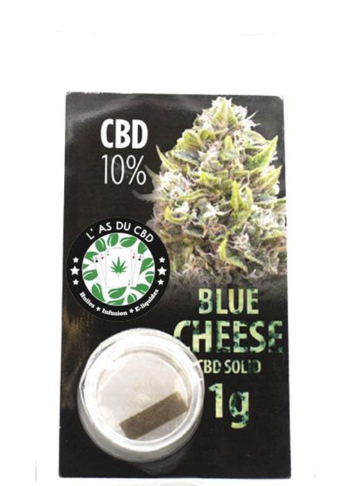achat cbd CBD solide 10% Blue Cheese
