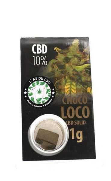 photo cbd CBD solide 10% Chocoloko