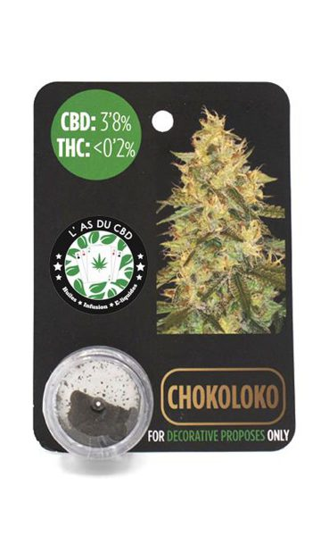 photo cbd CBD 3,8% Chocoloko