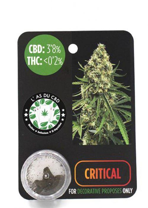 achat cbd CBD 3,8% Critical
