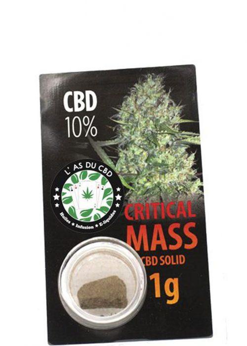 achat cbd CBD solide 10% Critical Mass