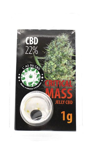 photo cbd Jelly 22% Critical Mass