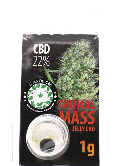 achat cbd Jelly 22% Critical Mass