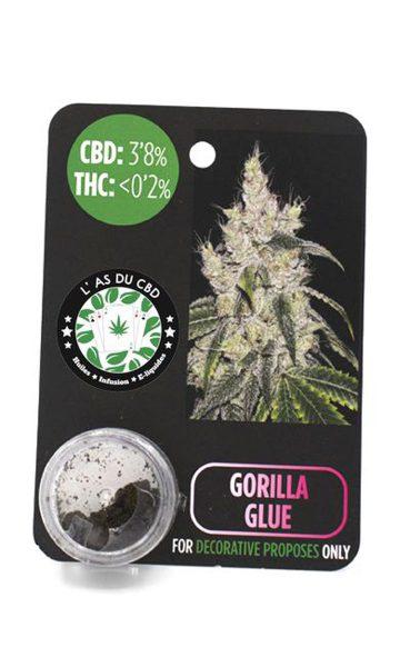 photo cbd CBD 3,8% Gorilla Glue
