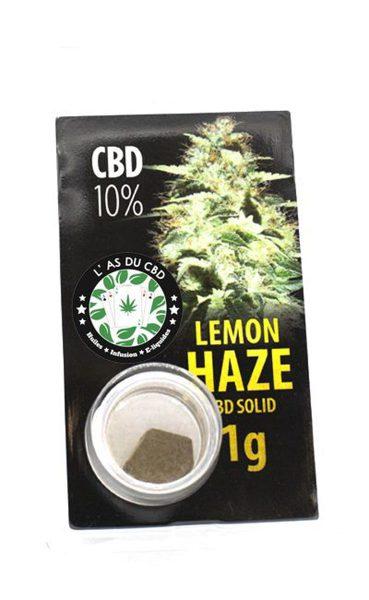 photo cbd CBD solide 10% Lemon Haze