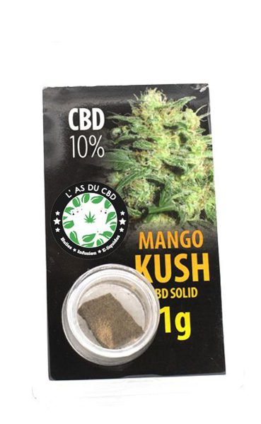 photo cbd CBD solide 10% Mango Kush