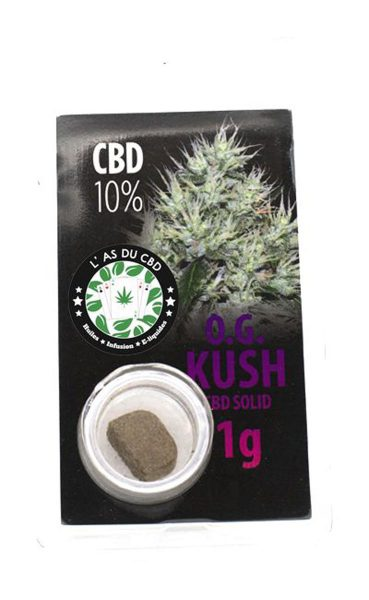 photo cbd CBD solide 10% Og Kush