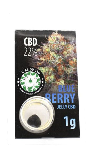 photo cbd Jelly 22% Blue berry