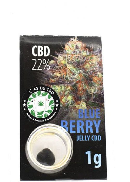 achat cbd Jelly 22% Blue berry