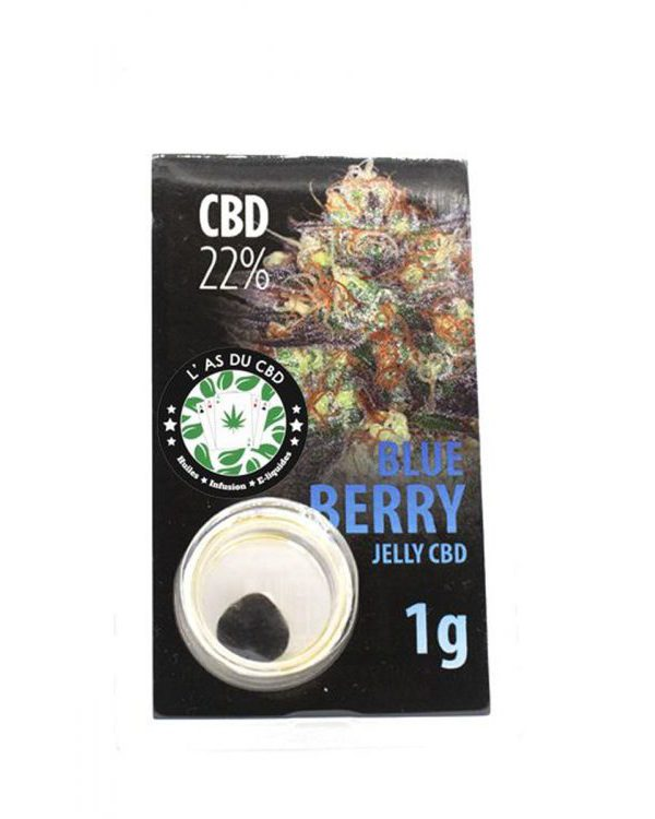 photo cbd Jelly 22% Blue berry