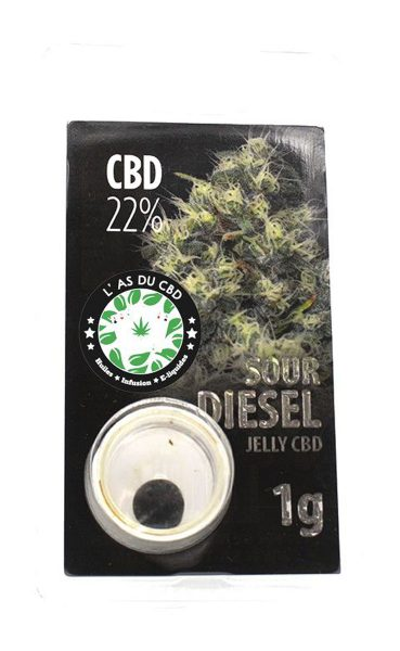 photo cbd Jelly 22% Sour Diesel