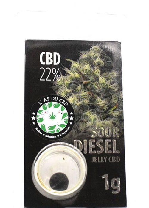 achat cbd Jelly 22% Sour Diesel