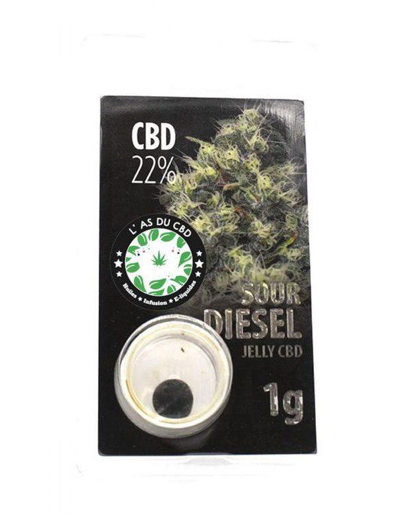 photo cbd Jelly 22% Sour Diesel