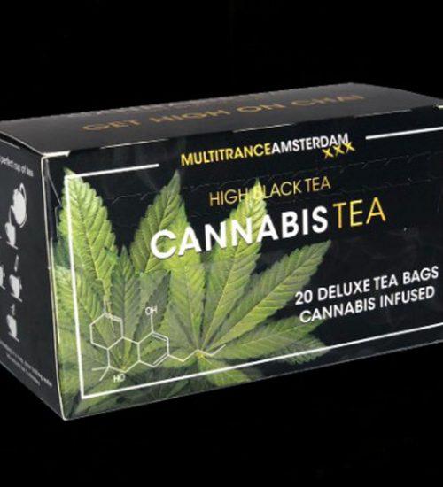 achat cbd Cannabis Tea Black High tea