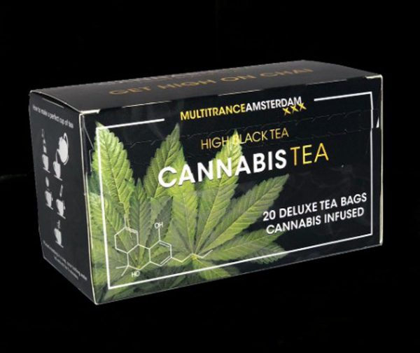 photo cbd Cannabis Tea Black High tea