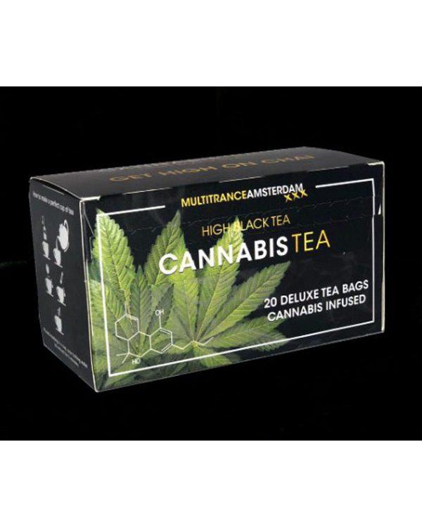 photo cbd Cannabis Tea Black High tea
