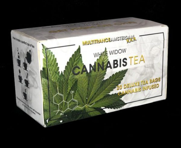 photo cbd Cannabis Tea White Widow