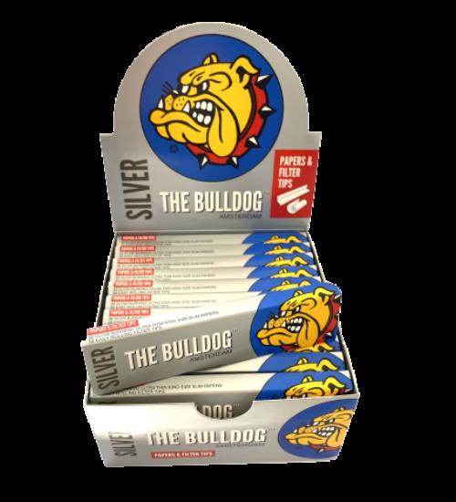 achat cbd Feuilles à rouler avec filtres BullDog Slim
