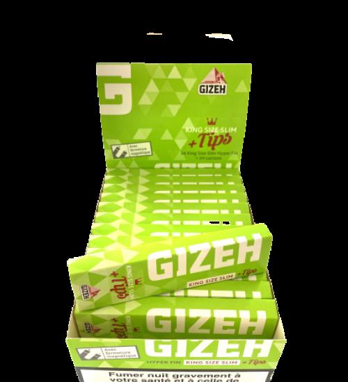 achat cbd Feuilles à rouler avec filtres Gizeh