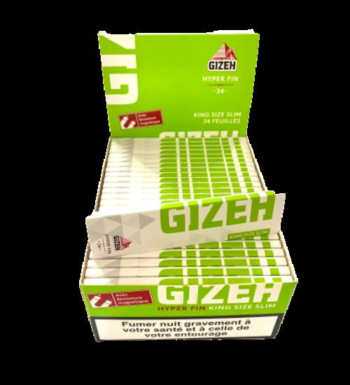 achat cbd Feuilles à rouler Gizeh Slim
