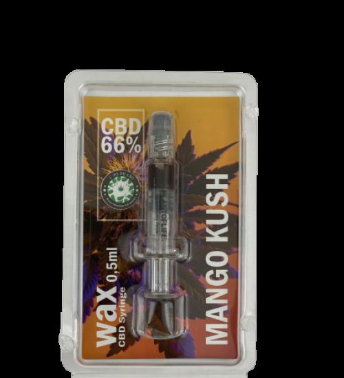 achat cbd Wax CBD Seringue MANGO KUSH