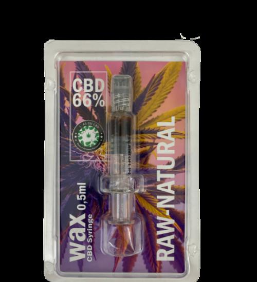 achat cbd Wax CBD Seringue RAW NATURAL
