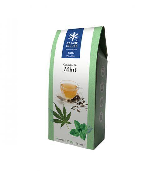 achat cbd Plant of life – Cannabis Tea CBG – Mint