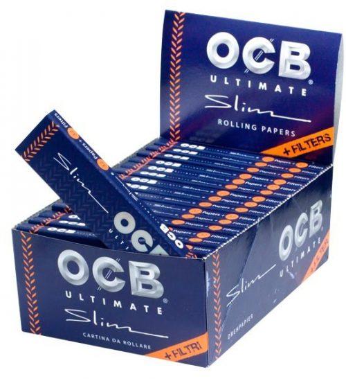 achat cbd Feuilles à rouler avec filtres OCB Ultimate Slim