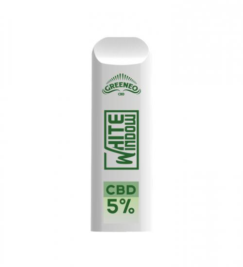 achat cbd Pod White Window – Cigarette électronique jetable
